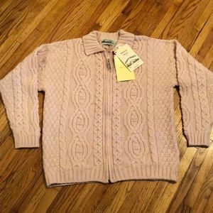 Aran Crafts Woman's Sweater size Large NWT